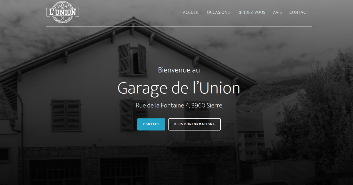 Garage de l 39 union rue de la fontaine 4 3960 sierre for Garage opel l union